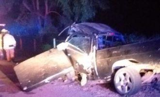 Cuatro muertos deja choque en La Costera