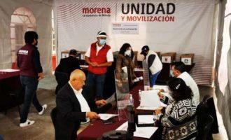 Morena registra a 61 precandidatos a 7 entidades