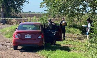 Localizan ejecutado a balazos en un automóvil a vecino de Villa Juárez